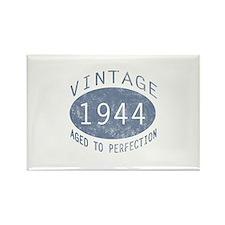 1944 Vintage Birthday (blue) Rectangle Magnet