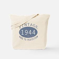 1944 Vintage Birthday (blue) Tote Bag