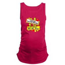 Want You For All Time-Glen Campbell Maternity Tank