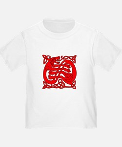 red celtic dragon T
