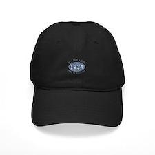 1934 Vintage Birthday (blue) Baseball Hat