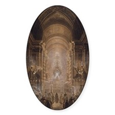 Holy Sacrament in the Pauline Chape Decal