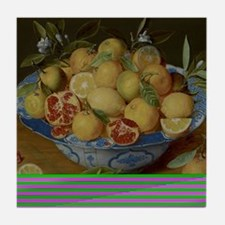 Still Life with Lemons, Oranges and a Tile Coaster