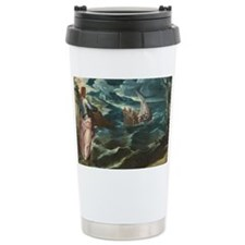 Christ at the Sea of Ga Travel Mug