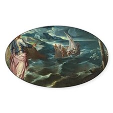 Christ at the Sea of Galilee Decal