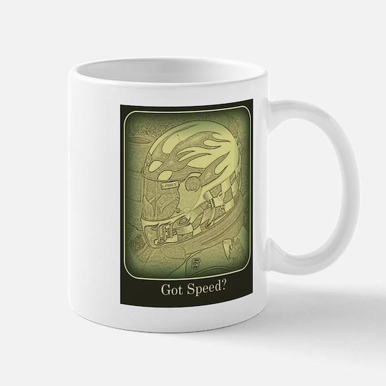 Got Speed (antique) Mugs