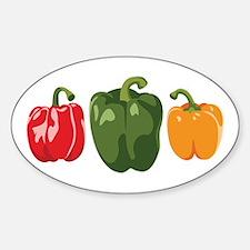 Bell Pepper Vegetables Decal