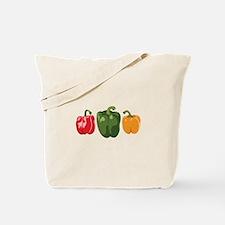 Bell Pepper Vegetables Tote Bag