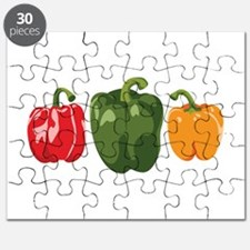 Bell Pepper Vegetables Puzzle