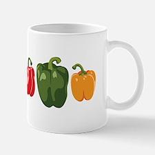 Bell Pepper Vegetables Mugs