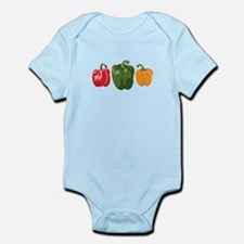 Bell Pepper Vegetables Body Suit