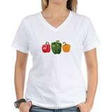 Pepper Womens V-Neck T-shirts