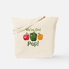 Weve Got Pep! Tote Bag