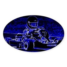 Kart Racer in Blue Decal