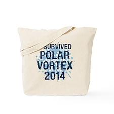 Polar Vortex 2014 Tote Bag