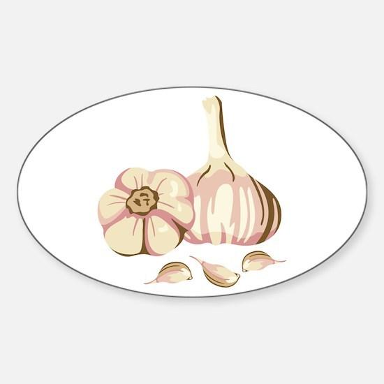 Garlic Cloves Decal
