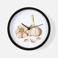 Garlic Cloves Wall Clock