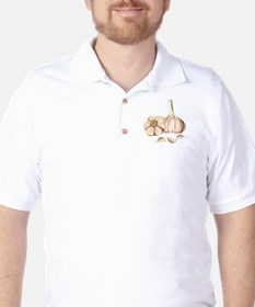 Garlic Cloves Golf Shirt
