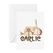 GARLIC Greeting Cards
