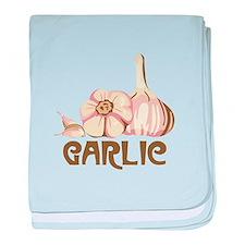 GARLIC baby blanket