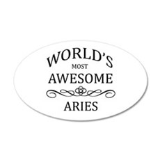 World's Most Awesome Aries Wall Decal
