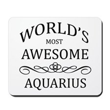 World's Most Awesome Aries Mousepad