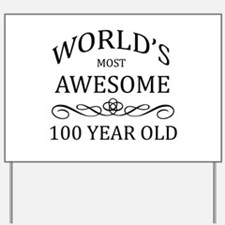 World's Most Awesome 100 year Old Yard Sign
