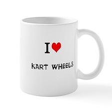 I Love Kart Wheels Mugs