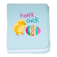 Easter Chick baby blanket