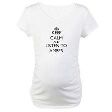 Keep Calm and listen to Amber Shirt