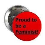 "Feminist 2.25"" Button (100 pack)"