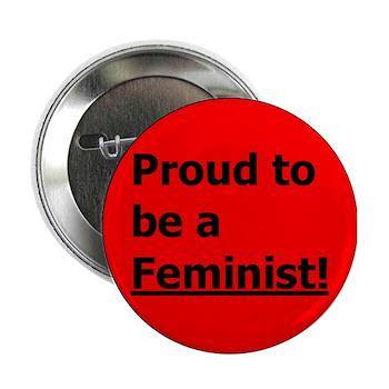 "Feminist 2.25"" Button (100 pack)"