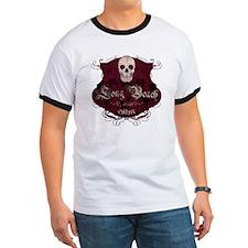Long Beach LBC Skull Roses T-Shirt