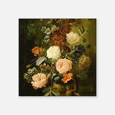 "Still Life Painting - Vase  Square Sticker 3"" x 3"""