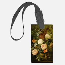 Still Life Painting - Vase of Fl Luggage Tag
