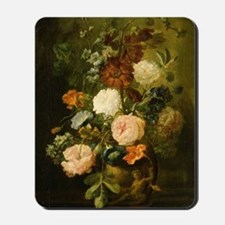 Still Life Painting - Vase of Flowers Mousepad