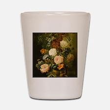 Still Life Painting - Vase of Flowers Shot Glass