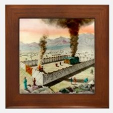 Tabernacle In The Wilderness Framed Tile