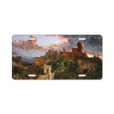 Jasper Francis Cropsey - Th Aluminum License Plate