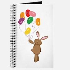 Easter Bunny Jelly Bean Balloons Journal