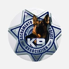SPD K9 Logo Ornament (Round)