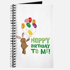Hoppy Birthday To Me! Journal