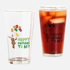 Hoppy Birthday To Me! Drinking Glass