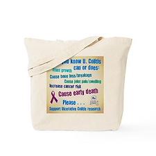 Colitis Awareness Tote Bag