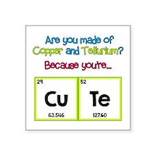 CuTe Flirt Sticker