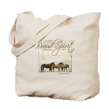 Poud Spirit Sanctuary Mustangs Tote Bag