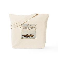 Poud Spirit Sanctuary Mustangs Tote Bag