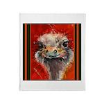 Ostrich & Fish Throw Blanket