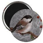 """2.25"""" Magnet (10 pack) Chickadee"""