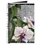 Journal with Orchid